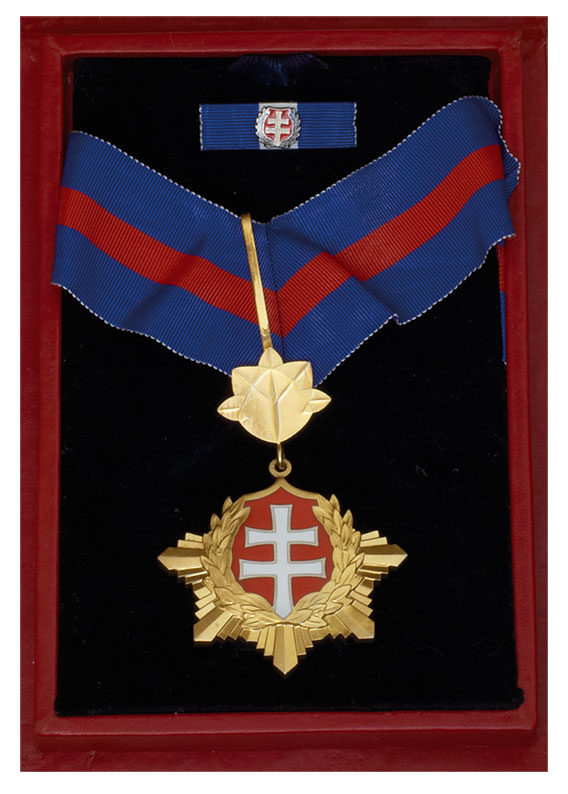 The Order of the White Double Cross (Slovakia, 2006)